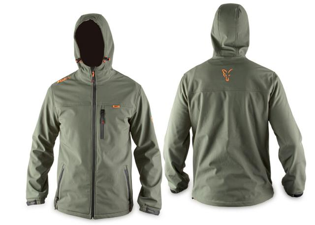 Fox-International-Soft-Shell-Hooded Jacket