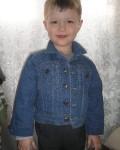 джинсовая курточка для сына