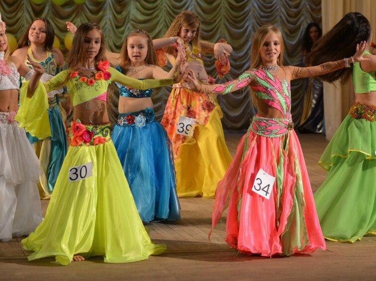 Конкурс восточных танцев