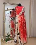 Длинное верхнее платье из шёлкового шифона. Может служить шикарным дополнением к платью, брюкам...
